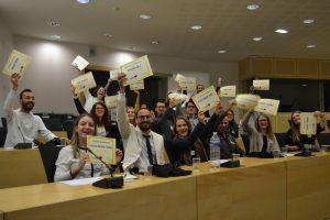 Jeunes de Lam Echaml à «Journalistes Citoyens» à Strasbourg
