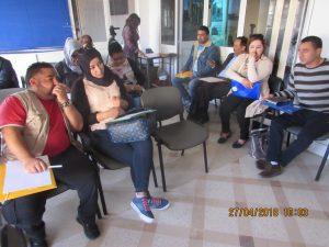 Rencontre avec les associations locales dans le cadre du projet : » Femmes et Hommes égaux dans les pouvoir locaux» soutenu par le FNUD
