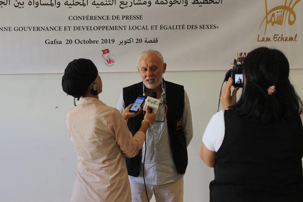 Organisation de 2 points de presse sur l'état d'avancement du projet «femmes et hommes égaux dans les projets locaux» soutenu par le FNUD